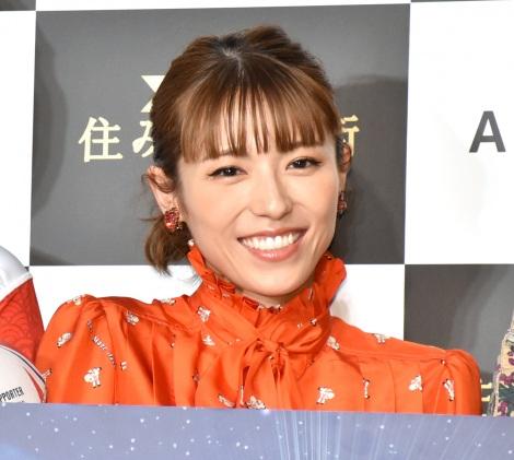 『ARUHI presents 本当に住みやすい街大賞 2020』受賞式に登場した若槻千夏 (C)ORICON NewS inc.