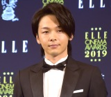 『エル シネマアワード2019』授賞式に出席した中村倫也 (C)ORICON NewS inc.