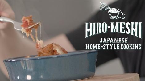 """水嶋ヒロの料理番組""""Hiro-Meshi Japanese Home-style Cooking"""" (写真は水嶋ヒロ公式ブログより)"""