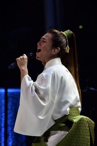 『氷川きよしスペシャルコンサート2019 きよしこの夜 Vol.19』を開催した氷川きよし (C)oricon ME inc.