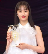 『VOCE BEST COSMETICS AWARDS 2019』授賞式に出席した広瀬すず (C)ORICON NewS inc.