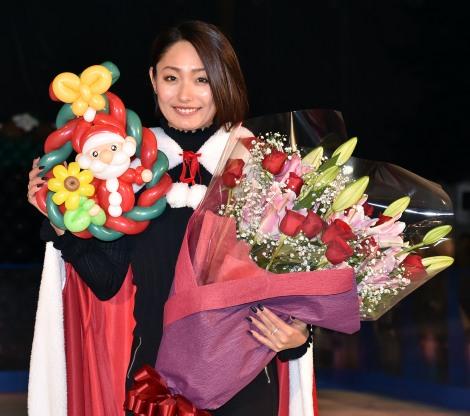 『歌舞伎町 X'masスケートリンク』オープニングセレモニーに出席した安藤美姫 (C)ORICON NewS inc.
