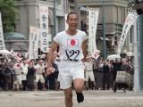 前半の主人公は日本初のオリンピック選手・金栗四三(中村勘九郎)(C)NHK