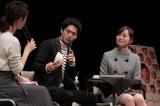 滋賀県甲賀市・あいこうか市民ホールで開催された、連続テレビ小説『スカーレット』のパブリックビューイングにゲスト出演した松下洸平(C)NHK