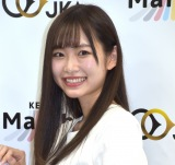 競輪の魅力を伝えるユニット「けいマルガールズ」発表会に出席した八伏紗世 (C)ORICON NewS inc.
