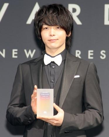『NEWS AWARDS 2019』俳優部門を受賞した中村倫也 (C)ORICON NewS inc.