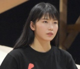 AKB48グループ特別公演 第一部『仁義なき戦い〜彼女(おんな)たちの死闘篇〜』公開けいこに参加した横山由依 (C)ORICON NewS inc.