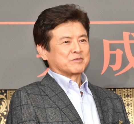 映画『AI崩壊』完成報告会見に出席した三浦友和 (C)ORICON NewS inc.