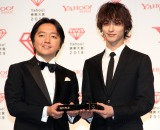 「Yahoo!検索大賞」で大賞を受賞した横浜流星(右) (C)ORICON NewS inc.
