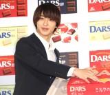 森永製菓『12月12日「ダースの日」』PRイベントに登場した横浜流星 (C)ORICON NewS inc.