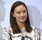 映画『ロマンスドール』完成披露試写会に出席した蒼井優 (C)ORICON NewS inc.