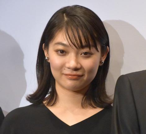 映画『ロマンスドール』完成披露試写会に出席した三浦透子 (C)ORICON NewS inc.