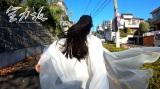『仮面ライダージオウ』のツクヨミ(大幡しえり)が全力坂に登場(C)テレビ朝日