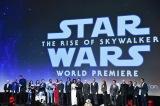 映画『スター・ウォーズ/スカイウォーカーの夜明け』(12月20日公開)米ハリウッドで開催されたワールドプレミアでの舞台あいさつ(C)2019 Getty Images
