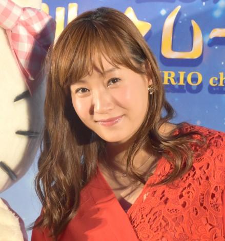 『ハローキティ トゥインクル☆ムーンライト』に出席した藤本美貴(C)ORICON NewS inc.