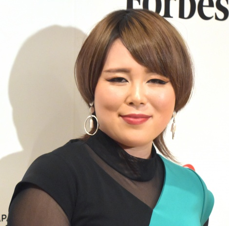 来年は環境問題に注力すると語ったブルゾンちえみ=女性表彰イベント『Forbes JAPAN WOMEN AWARD 2019』スペシャルトーク (C)ORICON NewS inc.