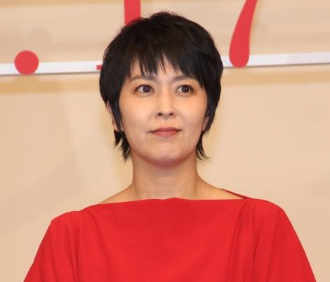 映画『ラストレター』完成披露舞台あいさつに登場した松たか子 (C)ORICON NewS inc.