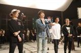 SKE48に振付指導するDA PUMP(左から)TOMO、KENZO、U-YEAH、DAICHI