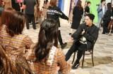 SKE48に振付指導するDA PUMPのDAICHI