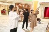 SKE48に振付指導するDA PUMPのU-YEAH
