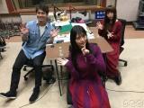12月30日放送NHK-FM『ミュージックライン 勝手に紅白スペシャル』(左から)鮎貝健、上坂すみれ、南波志帆