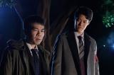 来年1月6日スタート『絶対零度〜未然犯罪潜入捜査〜』に出演する(左から)マギー、粗品  (C)フジテレビ