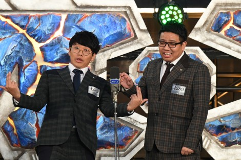 「M-1グランプリ2019 敗者復活戦」に登場したミキ (C)M-1グランプリ事務局