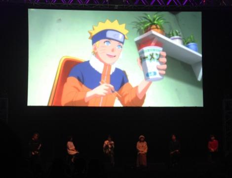 『BORUTO ?ボルト- -NARUTO NEXT GENERATIONS-』ステージイベントの様子 (C)ORICON NewS inc.