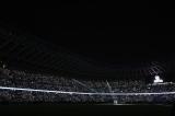 国立競技場にサプライズ登場ゆずが「栄光の架橋」を披露 写真提供:JSC
