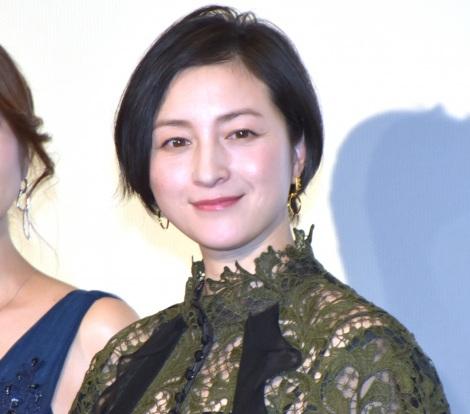 映画『太陽の家』の舞台あいさつに登壇した広末涼子 (C)ORICON NewS inc.