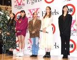 2020年第1弾シングル「別世界」リリースイベント(左から)石井杏奈、須田アンナ、YURINO、楓、藤井夏恋 (C)ORICON NewS inc.