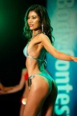 『Super Body Contest TOKYO FINAL』ELEGANTクラス2位・時任美帆さん 撮影/徳永徹 (C)oricon ME inc.