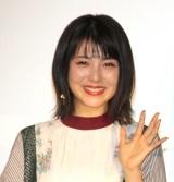 映画『屍人荘の殺人』大ヒット御礼舞台あいさつに登壇した浜辺美波 (C)ORICON NewS inc.