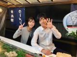 石川恋&岩永徹也の屋台デートオフショット (写真は公式ブログより)