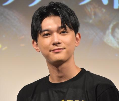 サプライズ登場した吉沢亮 =映画『キングダム』ブルーレイ&DVDリリース記念前夜祭(C)ORICON NewS inc.