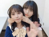 齋藤飛鳥(右)&与田祐希の