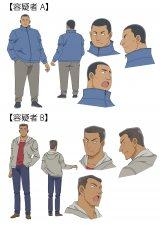 『名探偵コナン』のゲストで容疑者Aを松尾駿、容疑者Bを長田庄平がアフレコ(C)読売テレビ