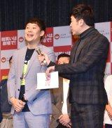 『2020 ルミネtheよしもと 新春キャンペーン』の発表会に出席した佐久間一行 (C)ORICON NewS inc.