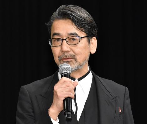 映画『風の電話』の完成披露試写会に登壇した諏訪敦彦監督 (C)ORICON NewS inc.