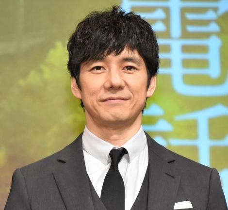 映画『風の電話』の完成披露試写会に登壇した西島秀俊 (C)ORICON NewS inc.