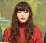 映画『風の電話』の完成披露試写会に登壇したモトーラ世理奈 (C)ORICON NewS inc.