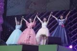 現体制ラストライブを行ったカントリー・ガールズ(左から)船木結、山木梨沙、森戸知沙希、小関舞