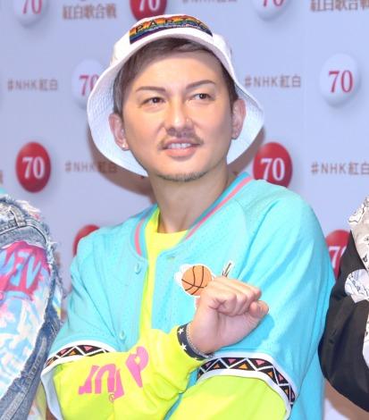 『第70回NHK紅白歌合戦』のリハーサルに参加したDA PUMP・ISSA (C)ORICON NewS inc.
