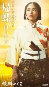 大河ドラマ『麒麟がくる』帰蝶(川口春奈)のビジュアル(C)NHK