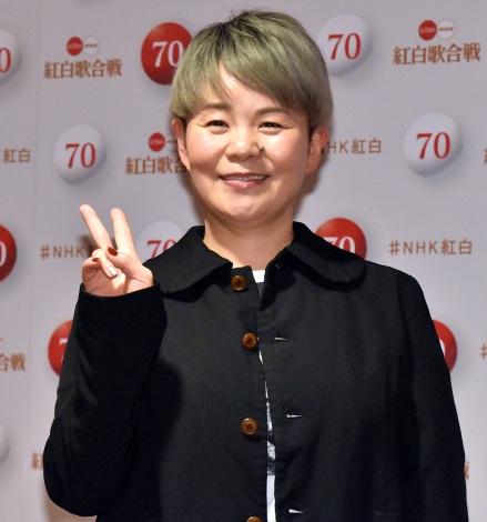 『第70回NHK紅白歌合戦』のリハーサルに参加した島津亜矢 (C)ORICON NewS inc.