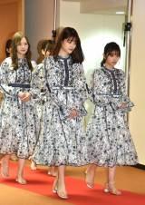 『第70回NHK紅白歌合戦』の囲み取材に参加した乃木坂46 (C)ORICON NewS inc.