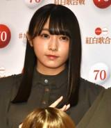 『第70回NHK紅白歌合戦』の囲み取材に参加した欅坂46・渡辺梨加 (C)ORICON NewS inc.