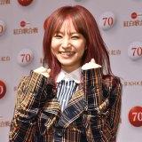 『第70回NHK紅白歌合戦』の囲み取材に参加したLiSA (C)ORICON NewS inc.