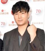 『第70回NHK紅白歌合戦』の囲み取材に参加した松浦匡希 (C)ORICON NewS inc.