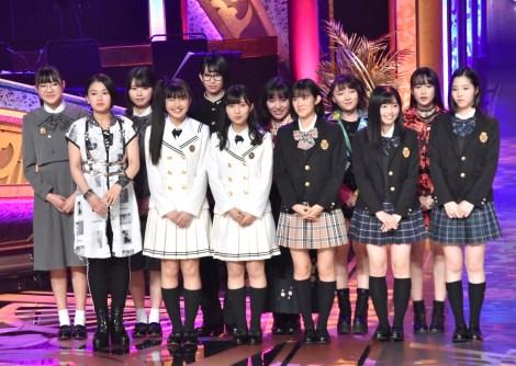 『第61回輝く!日本レコード大賞』最優秀新人賞を受賞したBEYOOOOONDS (C)ORICON NewS inc.